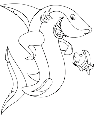 coloring page shark great white shark coloring page printable coloring page shark