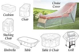 outdoor garden furniture covers. get quotations clear weather resistant patio furniture covers cushion bag outdoor garden