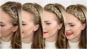Headband Hair Style four headband braids missy sue youtube 4790 by wearticles.com