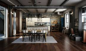 Loft renovation | Modern industrial interior design