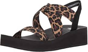 leopard print sandals - Amazon.com