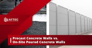 precast concrete walls vs