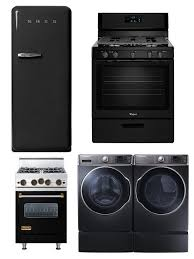 black appliance matte seamless kitchen: is the seemingly endless reign of silver appliances coming to end black kitchen appliances