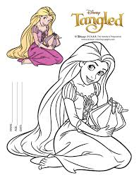Small Picture rapunzel coloring pages printable free printable tangled coloring