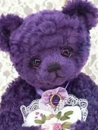 Pin by Myrna Klein on violet | Purple teddy bear, All things purple, Purple  love