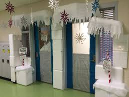 winter wonderland classroom door decorating ideas. Winter Wonderland Classroom Door Decoration. I Had Many Styrofoam Coolers.  Used A Styro-cutter To Cut Through And Make Igloo Pieces. Winter Wonderland Classroom Door Decorating Ideas N