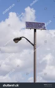 Light Poles California Solar Powered Street Light Pole California Stock Photo Edit