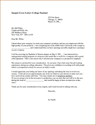 34 Sample Cover Letter For College College Application Letter