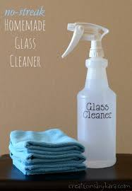 no streak homemade glass cleaner the best