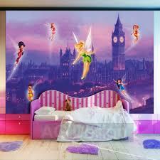 London Wallpaper Bedroom Disney Fairies Tinkerbell In London Wallpaper Xxl Great