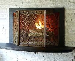 frontgate fireplace screen frontgate beveled glass fireplace screen