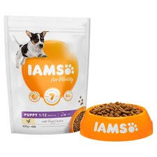 Iams Puppy Food Chart Iams Dog Food Puppy Small Medium With Chicken 800g