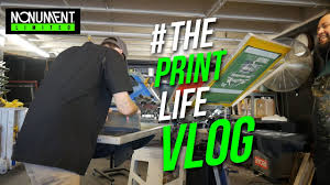 <b>Day</b> in The Life of a Screen Printer | <b>Printing</b> 1500 t shirts with a 4 ...