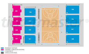 Bendat Basketball Centre Mt Claremont Tickets Schedule Seating Chart Directions