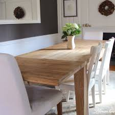 e check out how we created a restoration hardware inspired farmhouse table for free