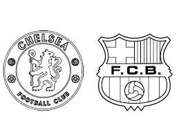 Kleurplaat Uefa Champions League 2018 Chelsea Fc Fc Barcelona 7