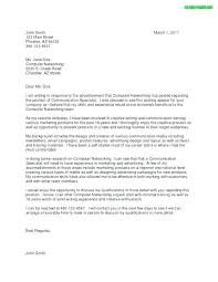 Cover Letter Sample In Word Format Writing A Cover Letter For A