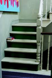 Best Images About Painted Stairs On Pinterest Runners - Painted basement stairs