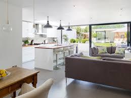 Open Plan Living Room Open Plan Kitchen Living Room Lighting House Decor