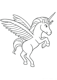 unicorn images coloring pages rainbow and best for kids pictures
