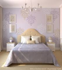 bedroom stencil ideas. you can repeat to create an allover pattern stencil design and if creating a random bedroom ideas l