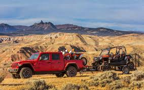 Jeep Towing Chart 2020 Jeep Gladiator Towing And Storage Utilities
