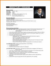 Amusing Job Application Resume Format Sample In Philippine Resume