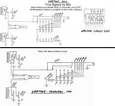 schematics varitone bypass circuits vintage guitars
