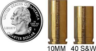 10mm Vs 40 S W Summary And Ballistics Gundata Org