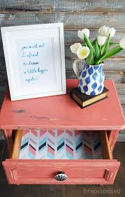 pink painted furniture. scandinavian pink frenchy themed furniture makeover day painted