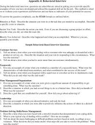 Situational Based Interview Questions Supervisor Behavioral Interview Questions