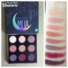 manny mua x makeup geek palette i need this unicorn