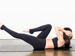 your neck hurts during abs exercises