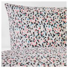 smÅstarr duvet cover and pillowcase s dotted multicolor thread count 144