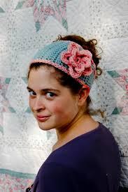 Crochet Flower Pattern For Headband Adorable Tapered Flower Headband A Free Crochet Pattern Alaska Knit Nat