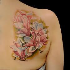 татуировка на лопатке девушки цветы фото рисунки эскизы