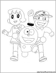 Kiteretsu Coloring Page