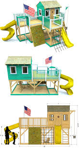 Playground Playhouse Plan
