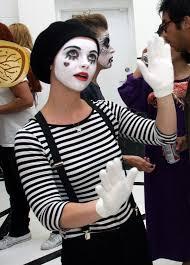 christina ricci with cute mime makeup