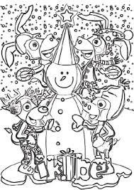 Sneeuwpop Maken Inkleuren En Andere Kleurplaten Gratis Op Wwwikbe