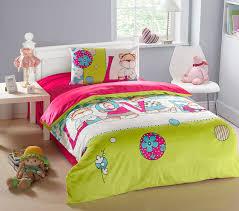 image of modern kids bedding set
