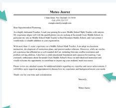 Modest Decoration Teacher Resume Cover Letter School Teacher Cover