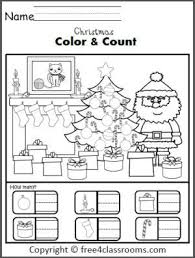 To view the worksheet activity or to download the pdf, click on the individual title. Christmas Color And Counting Worksheet Christmas Math Worksheets Christmas Kindergarten Christmas Math