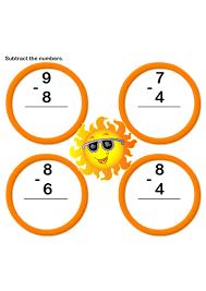 Subtraction Worksheet 7 | k | Kids Learning Games and Worksheets ...