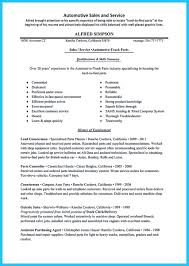 Before Starting To Write An Auto Technician Resume You Need To