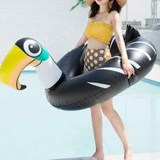 Adult Water Animals Mount Child <b>Inflatable</b> Toys Swimming Ring ...