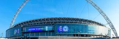 von: Wembley-Stadion, in London ...