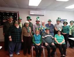 Falls Active Adult Center celebrates St. Patrick's Day | News |  pittston-progress.com