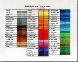 Blick Studio Markers Color Chart Making Progress And Color Charts Stampin Nut
