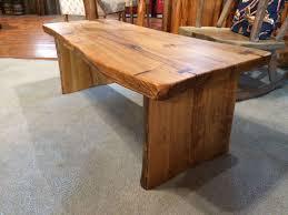 custom made cypress coffee table
